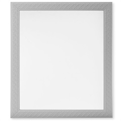 Espelho Decora Rattan 48x59cm Branco - Casa Etna