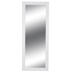 Espelho Étnico 130x50cm Branco - Casa Etna