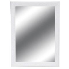 Espelho Étnico 80x60cm Branco - Casa Etna
