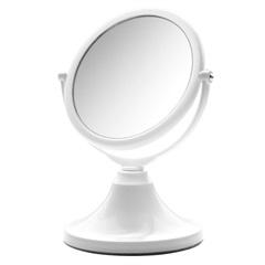 Espelho para Bancada Dupla Face Jolie Branco - Crysbell
