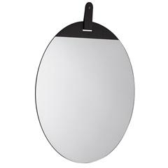 Espelho Redondo em Metal 50x50cm Preto - Mart
