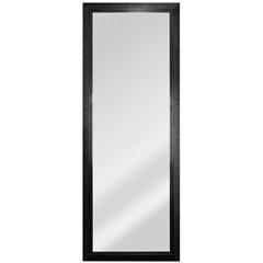 Espelho Retangular Moldura de Madeira Esmeralda