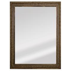 Espelho Retangular Moldura de Madeira Natural Cartagena 82x62cm - Espelhos Leão