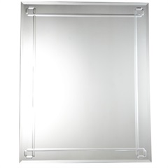 Espelho Safira 100x80cm - SB vidros