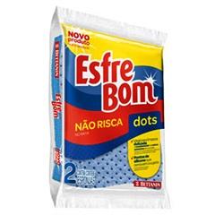Esponja Que Não Risca Power Esfrebom - Bettanin