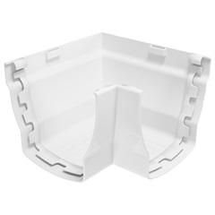 Esquadro em Pvc Elegance Interior 90° Branco - Odem