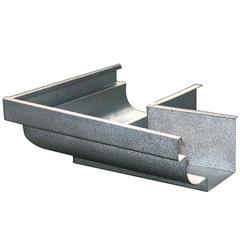 Esquadro Externo para Calha Moldura Galvanizado 28cm - Calha Forte