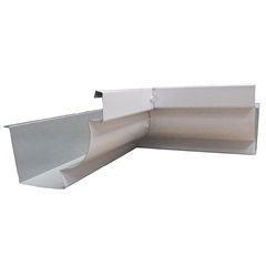 Esquadro Interno para Calha Moldura Branca 28cm - Calha Forte