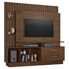 Estante Home para Tv 65'' Fascínio Cacau 182x187cm - JCM Movelaria