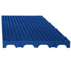 Estrado Modular em Polipropileno 25x50cm Azul - Impallets