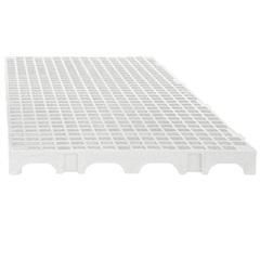 Estrado Modular em Polipropileno 25x50cm Branco - Impallets