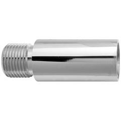 Extensão Sextavada para Torneira 1/2''X40mm Cromada - Blukit