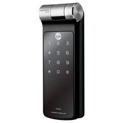 Fechadura Digital de Embutir com Biometria E Senha Ydf 40 - Yale