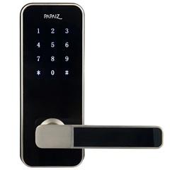 Fechadura Eletrônica Smart Lock Prata Direita - Papaiz