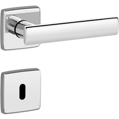 Fechadura Slim Interna 40mm Zamac Cromado  - Lockwell