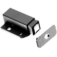 Fecho Magnético para Móveis Preto - Fixtil