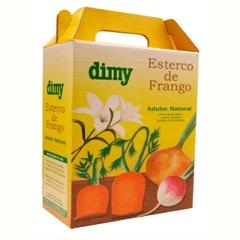 Fertilizante de Esterco de Frango 1kg - Dimy