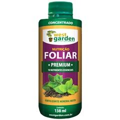 Fertilizante Foliar Premium 138ml - West Garden