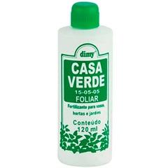 Fertilizante Líquido Casa Verde Foliar 120ml - Dimy