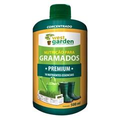 Fertilizante Líquido para Gramado Premium Concentrado 500ml - West Garden