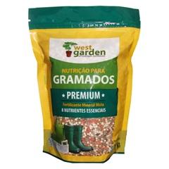 Fertilizante Mineral para Gramado Premium 1kg - West Garden