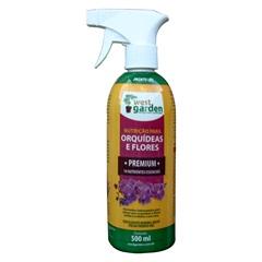 Fertilizante Mineral Pronto Uso Orquídeas E Flores 500ml - West Garden