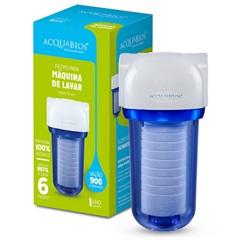 Filtro 200 para Máquina de Lavar Transparente com Refil Pp 7' - Acquabios