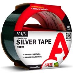 Fita Adesiva Silver Tape Prata 45mm com 5 Metros - Adere
