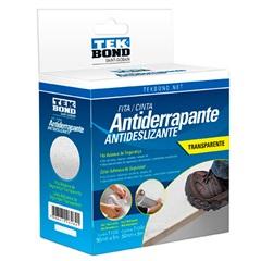 Fita Antiderrapante 50mm com 5 Metros Transparente - Tekbond