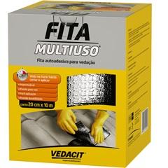 Fita Autoadesiva para Vedação Multiuso 20cm com 10 Metros - Vedacit