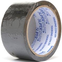 Fita de Demarcação Super Tape Preta 48mm com 15 Metros - Tekbond