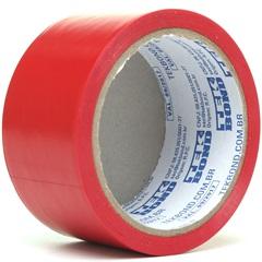 Fita de Demarcação Super Tape Vermelha 48mm com 15 Metros - Tekbond