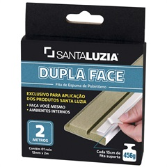 Fita Dupla Face de 12mm com 2 Metros - Santa Luzia