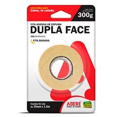 Fita Dupla Face de Espuma 19mm com 1,5 Metros - Adere