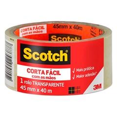 Fita Empacotamento Corta Fácil 45 Mm X 40 Metros - Scotch