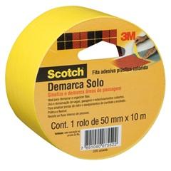 Fita para Demarcar Solo Amarela 50mmx10m - 3M