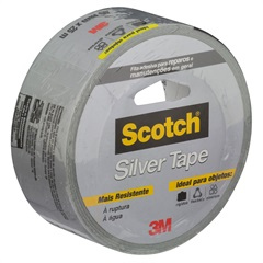 Fita Silver Tape 45 Mm X 25 Metros - Scotch