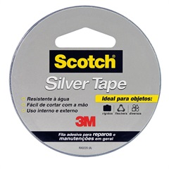Fita Silver Tape 45mmx5 Metros - Scotch