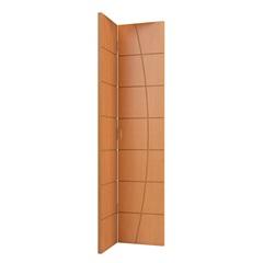 Folha de Porta Camarão Colmeia Elegance 210x82cm Freijó - Vert