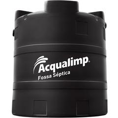 Fossa Séptica em Polietileno Ecolimp 2800 Litros Preta - Acqualimp