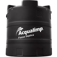 Fossa Séptica em Polietileno Ecolimp 3000 Litros Preta - Acqualimp
