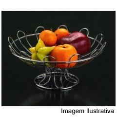 Fruteira Alta Cromada Ref. 110997 - Wireking