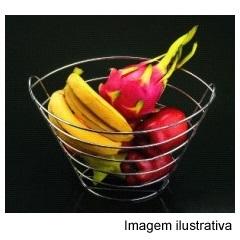 Fruteira Alta Cromada Ref. 115060 - Wireking