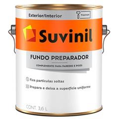 Fundo Preparador Base Água 3,6 Litros Ref. 53394252 - Suvinil