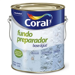 Fundo Preparador de Paredes À Base de Água 3,6 Litros - Coral