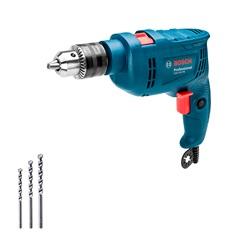 Furadeira de Impacto 550w 110v Gsb 550 Azul com 3 Brocas - Bosch