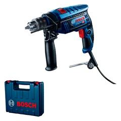 Furadeira de Impacto Reversível 650w 220v Gsb 13 Re Professional Azul E Preta - Bosch
