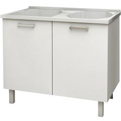 Gabinete Aco C/Tanq Flat Br 100 Cozi - Cozimax