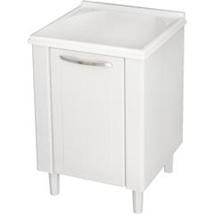 Gabinete em Aço com Tanque Quality 75x63cm Branco - Cozimax