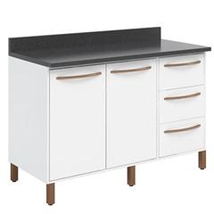 Gabinete em Mdp 90x120cm Branco - Albatroz